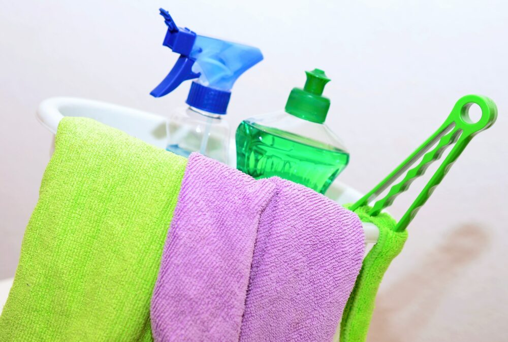 fall cleaning to save money