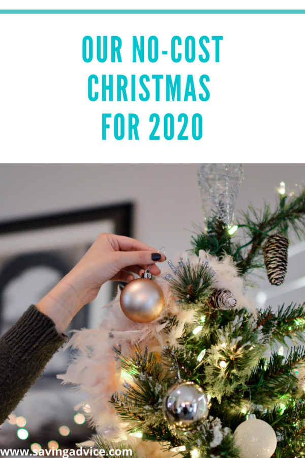 Our No Cost Christmas for 2020